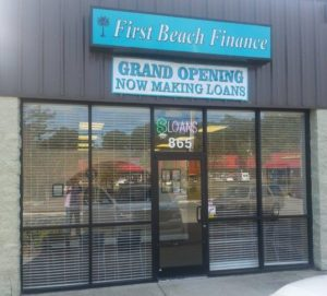 First Beach Finance Personal Loans